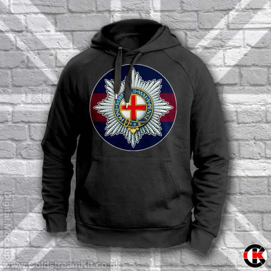 Blue Red Blue Hoodie, Coldstream Guards
