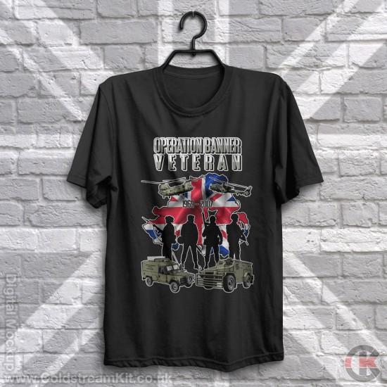 Op Banner, Northern Ireland Veteran, T-Shirt