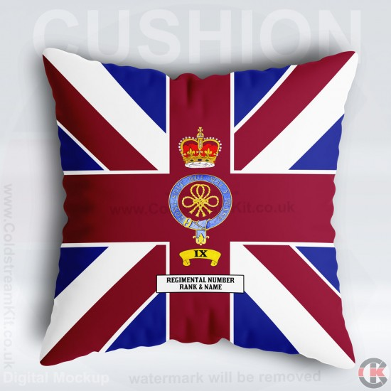 Company Bunting Cushion 40cm by 40cm, Coldstream Guards, No 9 Coy