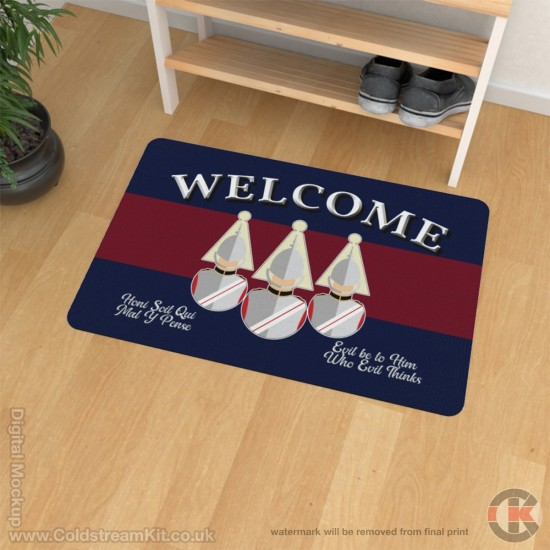 Life Guards Welcome Floor Mat (Bust Design)