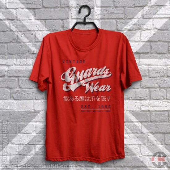 Guards Wear, Life Guards Vintage/Retro T-Shirt