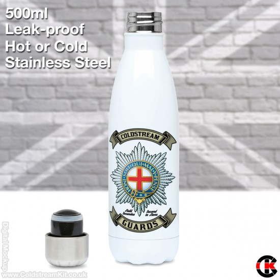 500ml Stainless Steel Water Bottle (Coldstream Guards)