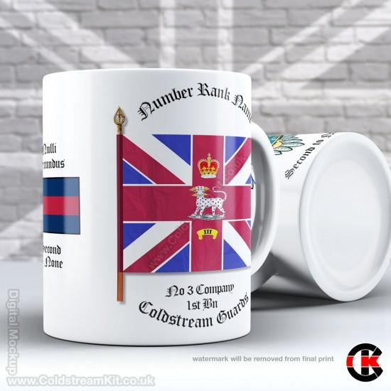 Company Bunting Mug, 3 Coy 1st Bn (11oz Mug)