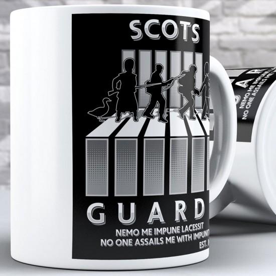 Abbey Road Parody Design - Scots Guards (11oz Mug)