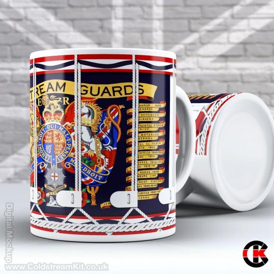 Drum Mug, Coldstream Guards (11oz Mug)