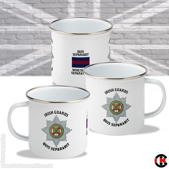 11oz Enamel Mug (Irish Guards)