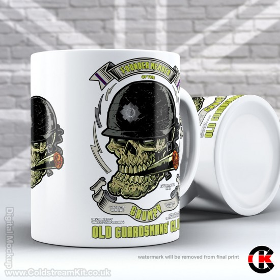 Grumpy Old Guardsmans Club, Scots Guards (11oz Mug)