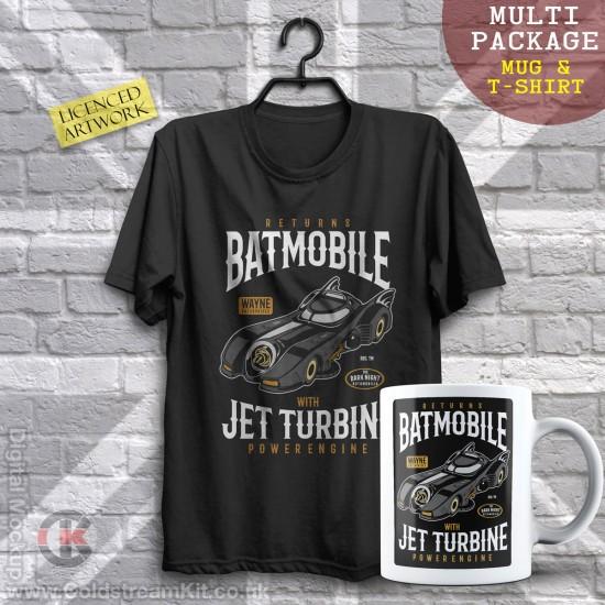 Multi-Package (save over £5) Batman Returns Batmobile (Mug & T-Shirt Package) 20% off!