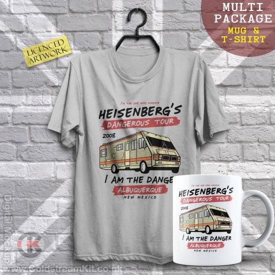 Multi-Package (save over £5) Breaking Bad Tour (Mug & T-Shirt Package) 20% off!