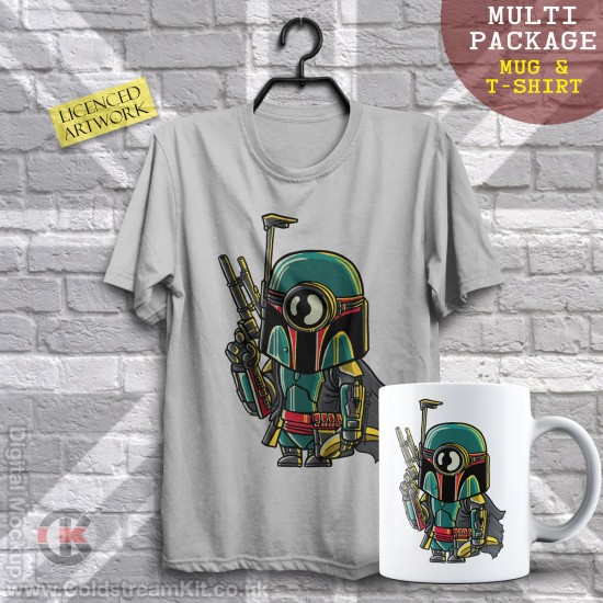 Multi-Package (save over £5) Boba Fett Minion, Mashup (Mug & T-Shirt Package) 20% off!