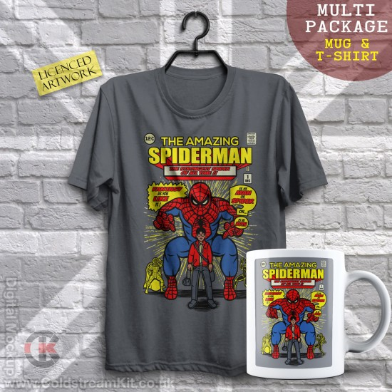 Multi-Package (save over £5) The Amazing Spiderman (Mug & T-Shirt Package) 20% off!