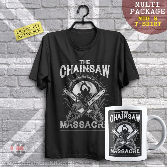 Multi-Package (save over £5) The Chainsaw Massacre (Mug & T-Shirt Package) 20% off!