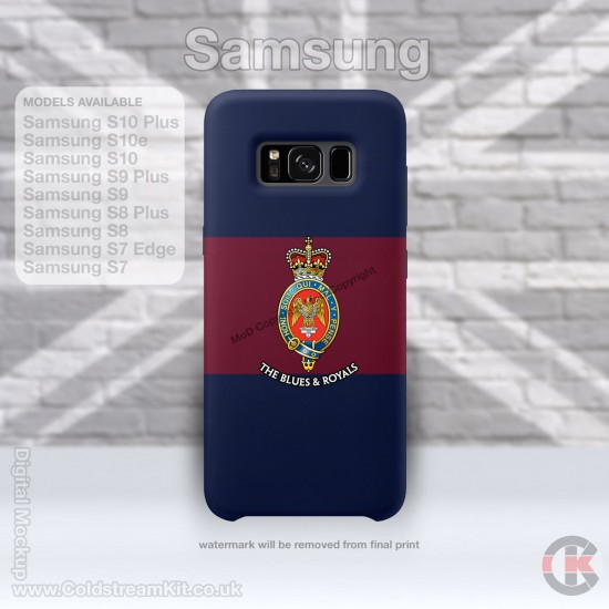 Samsung Phone Cover - Tough Case, The Blues and Royals, 3D Printed - FREE POSTAGE
