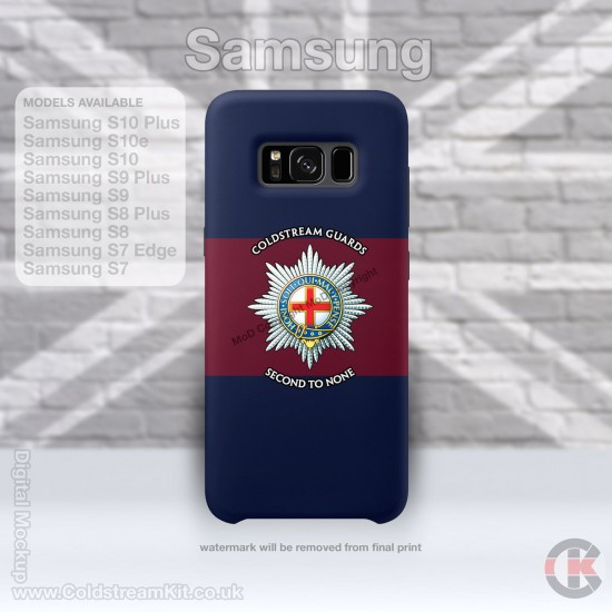 Samsung Phone Cover - Tough Case, Coldstream Guards, 3D Printed - FREE POSTAGE