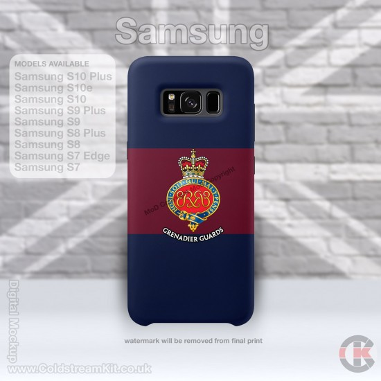 Samsung Phone Cover - Tough Case, Grenadier Guards (Cypher), 3D Printed - FREE POSTAGE