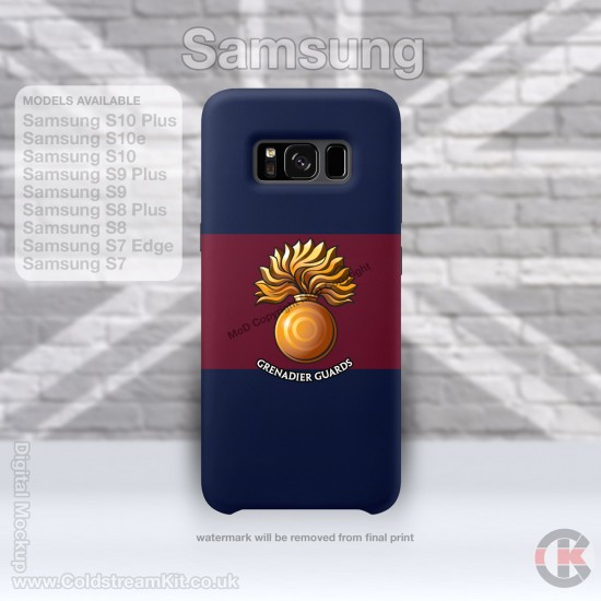 Samsung Phone Cover - Tough Case, Grenadier Guards (Grenade), 3D Printed - FREE POSTAGE
