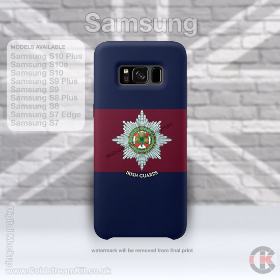 Samsung Phone Cover - Tough Case, Irish Guards, 3D Printed - FREE POSTAGE