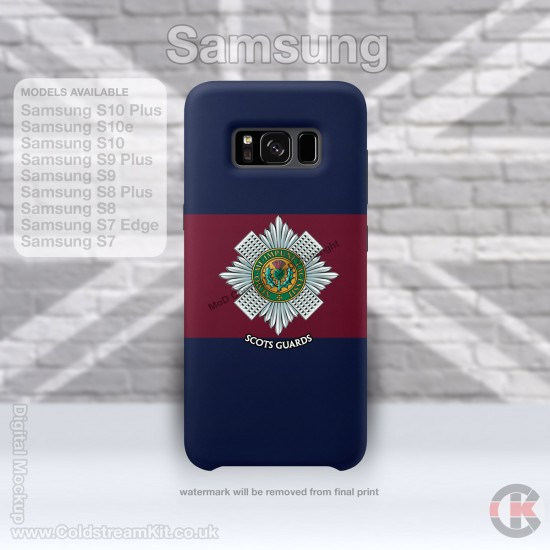 Samsung Phone Cover - Tough Case, Scots Guards, 3D Printed - FREE POSTAGE