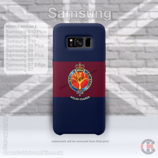 Samsung Phone Cover - Tough Case, Welsh Guards, 3D Printed - FREE POSTAGE
