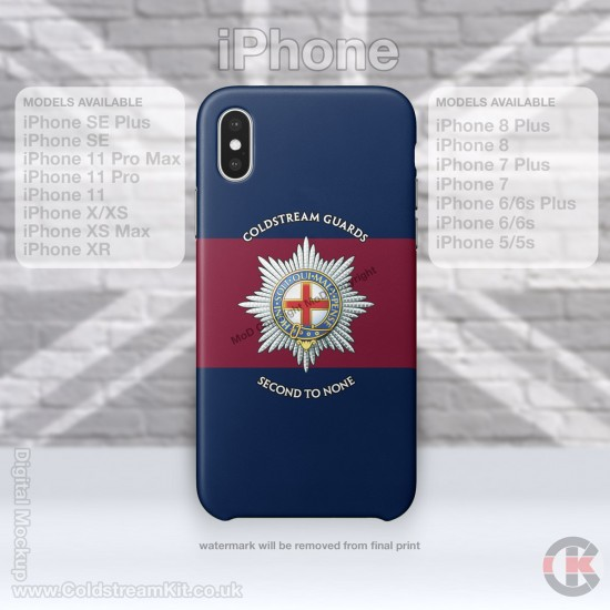 iPhone Phone Cover - Tough Case, Coldstream Guards, 3D Printed - FREE POSTAGE
