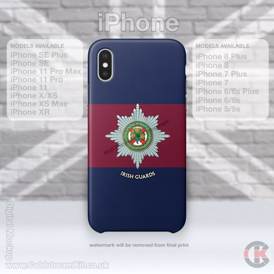 iPhone Phone Cover - Tough Case, Irish Guards, 3D Printed - FREE POSTAGE