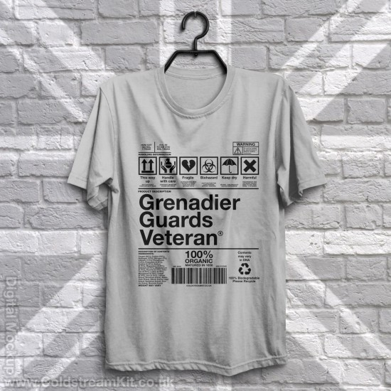 Product Information Warning, Grenadier Guards T-Shirt