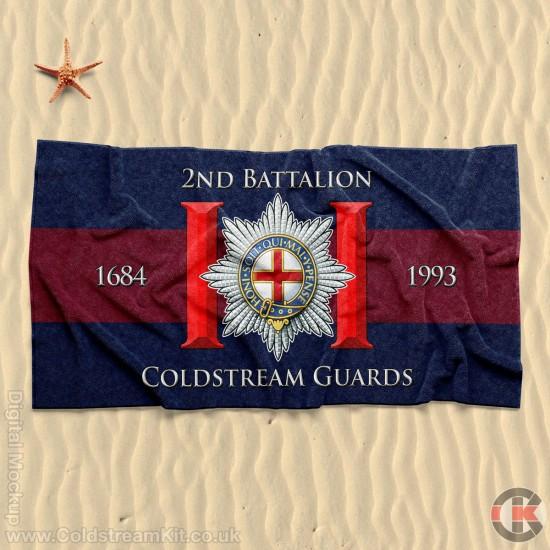 Beach Towel, 2nd Battalion, Coldstream Guards 160cm by 80cm