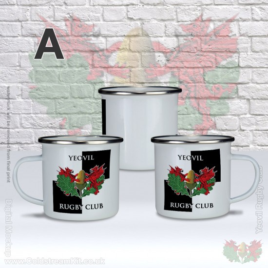Enamel Mug - Yeovil Rugby Club (FREE Personalisation)