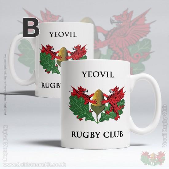 11oz Ceramic Mug - Yeovil Rugby Club (FREE Personalisation)