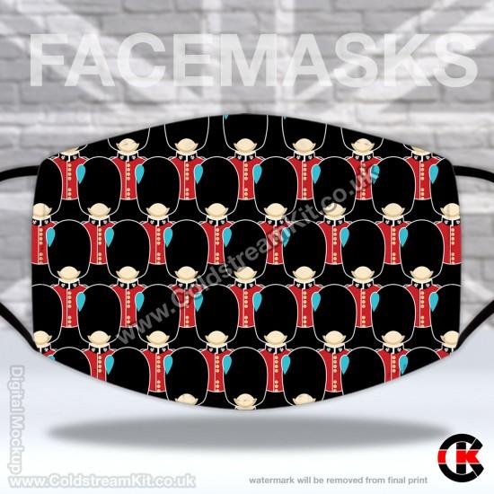 Irish Guards Regimental Face Mask (Non Medical Use) - FREE POSTAGE