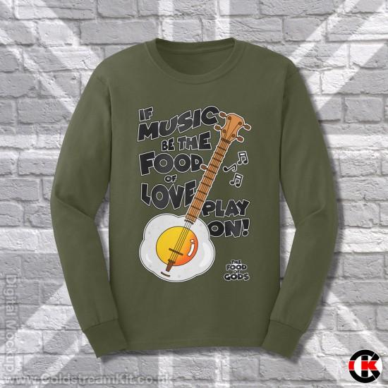 Egg Banjo, Sweatshirt