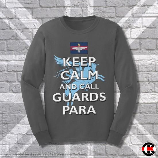 Keep Calm and Call Guards Para, Sweatshirt